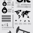 Infographic oil of the world vector — Stock Vector #19464063