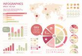 Infographic vector — Stock Vector