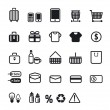 Shopping icons set. Vector design. — Stock Photo #19845473
