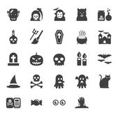 Halloween pictogrammen instellen vector — Stockfoto