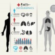Royalty-Free Stock Vector Image: Medical Infographic Design template, can be used for infographics