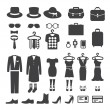 Clothing Store shopping Icon vector — Stock Vector