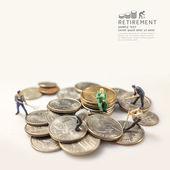 Businessman miniature figure — Stock Photo