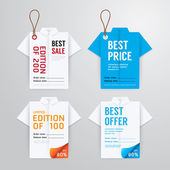 Sale banners, price tag — Stock Vector