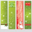 Stock Vector: Cristmas banners for your web sites
