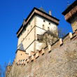 Part of Karlstejn Castle — Stock Photo