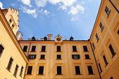 Cortile del castello di konopiste — Foto Stock