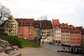 Old houses in Nuremberg Old Town — Stock Photo