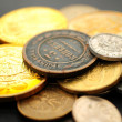 Many different coins — Stock Photo
