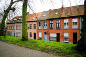 Typical Belgian residential buildings — Stock Photo