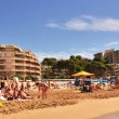 Llevant Beach, in Salou, Spain — Foto Stock