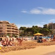 Llevant Beach, in Salou, Spain — Stock fotografie