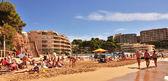 Playa de llevant, en salou, españa — Foto de Stock