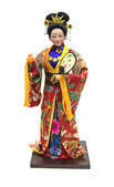 A doll in national costume — Stock Photo