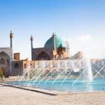 Jame Abbasi mosque on Naqsh-i Jahan Square , Esfahan — Stock Photo #13672079