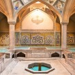 Hammam-e Ali Gholi Agha historic bath, Esfahan,  Iran - Stock Photo