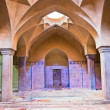 Beautiful architcture of Hammam-e Ali Gholi Agha, historic bath, Iran - Stock Photo