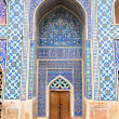 Tiled oriental Ateegh Jame mosque — Stock Photo #13671140