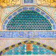 Tiled oriental Jame mosque — Stock Photo