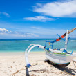 Stock Photo: Fishermboat on beach Gili island, Indonesia