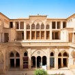 Abbasian historic  house with water pool , Kashan - Stock Photo