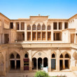 Stock Photo: Abbasihistoric house with water pool , Kashan