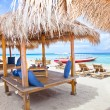 Stock Photo: Beach rest pavillion in Gili islands, Trawangan