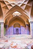 Beautiful architcture of Hammam-e Ali Gholi Agha, historic bath, Iran — Stock Photo