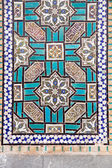 Tiled oriental ornaments on Shrine — Stock Photo