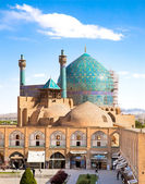 Beautiful Jame Abbasi mosque on Naqsh-i Jahan Square , Esfahan, Iran — Stock Photo