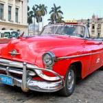 Classic Oldsmobile in Havana. Cuba, — Stock fotografie