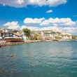 The town of Balchik in Bulgaria. - Stok fotoraf