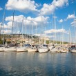 Yacht Club in  Balchik , Bulgaria. - Stock Photo