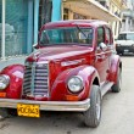 Classic american car in Havana. — Stock Photo