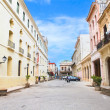 Street in old part of Havana. Cuba — Stock Photo