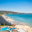 Stock Photo: Panoramic view of Golden Sands beach , Bulgaria.