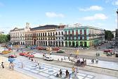 Panoramablick auf prado st. vor capitolio in alt-havanna — Stockfoto