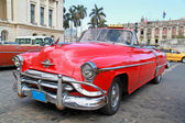 Klassiska oldsmobile i havanna. — Stockfoto