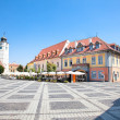 Beautiful main square in Sibiu, Romania — Stock Photo #20160451
