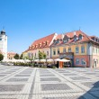 Beautiful main square in Sibiu, Romania — Stock Photo