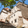 Dracula's Castle - Bran Castle, Transylvania, Romania, Europe - Stock Photo