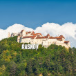 Stock Photo: Rasnov fortress ruins , Transylvania, Romania.