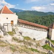 Rasnov citadel, near Brasov, Romania - Stock Photo