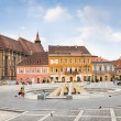 The Council Square in downtown, Brasov, Romania. — Stock Photo #20164579