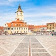 Stock Photo: Council Square in Brasov, Romania.