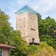 Black Tower in Brasov, Transylvania, Romania - Stock Photo