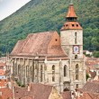 Black Church in Brasov, Transylvania, Romania. - Stock Photo