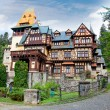 Pelisor museum  in Sinaia, Romania. - Stock Photo