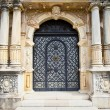Stock Photo: Door on Peles museum in Sinai, Romania.