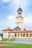 The Archiepiscopal Cathedral in Alba Iulia, Transylvania, Romani — Stock Photo
